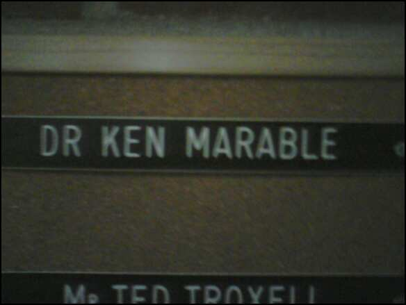 Dr Ken Marable??